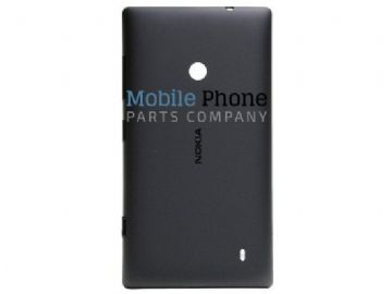 Genuine Nokia Lumia 520 Battery Back Cover Black - Part No: 02502Z6